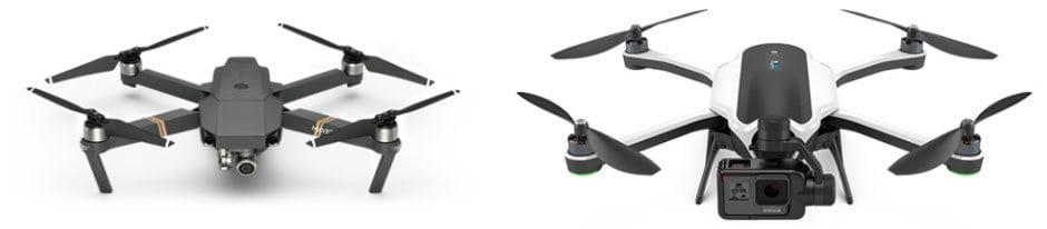 DJI Mavic Vs GoPro Karma Drone